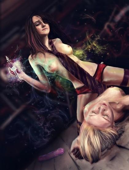 Гермиона/Луна by Opheliac. . R.
